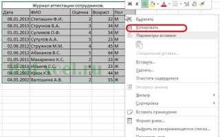 Excel: как сравнить 2 таблицы и подставить данные из одной в другую автоматически