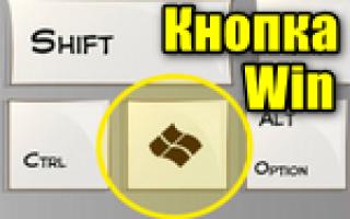 Кнопка Windows (WIN) и её сочетания клавиш
