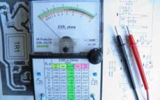 Простой прибор для проверки электролитических конденсаторов