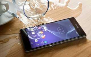 Что делать если телефон упал в воду?!