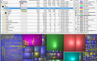 SpaceSniffer — оригинальная утилита для оценки дискового пространства