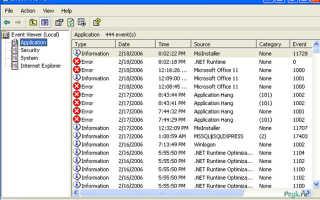 Как использовать просмотр событий Windows для решения проблем с компьютером