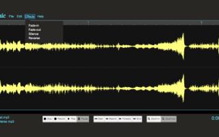 Работа с видео и аудио.