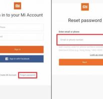 Сброс пароля Xiaomi Redmi 3, 4A, 4X