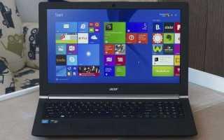 Как вернуть ноутбуку Acer Aspire V5 заводские настройки