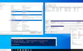 Как установить Windows 10 с применением технологии Compact OS на компьютер с обычным БИОС (жёсткий диск MBR) или ноутбук с отключенным интерфейсом UEFI