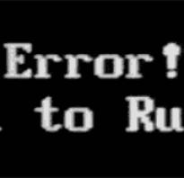 CPU fan error press «F1»