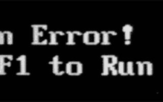CPU Fan Error Press F1 to Resume — как исправить ошибку