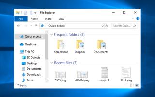 Как убрать панель быстрого доступа Windows 10