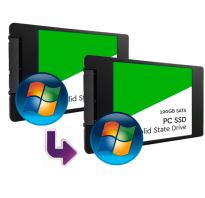 Перенос Windows 10 на SSD или другой диск в MiniTool Partition Wizard Free