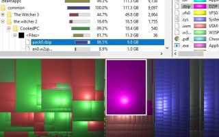 Анализ дискового пространства в числе штатных инструментов Windows 10 » Как установить Windows 10