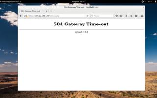 Ошибка 504 Gateway Time-out Nginx — как устранить проблему